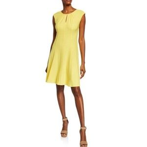 London Times Fully Lined Fit and Flare Dress